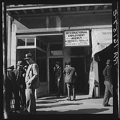 Employment Agency, Howard Street, San Francisco