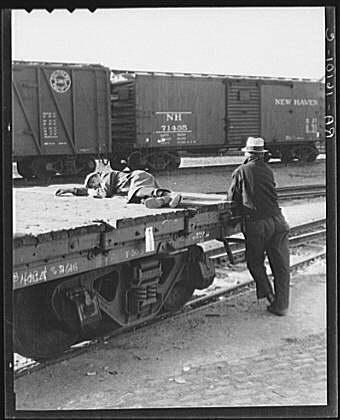 Railroad Yard near Sacramento