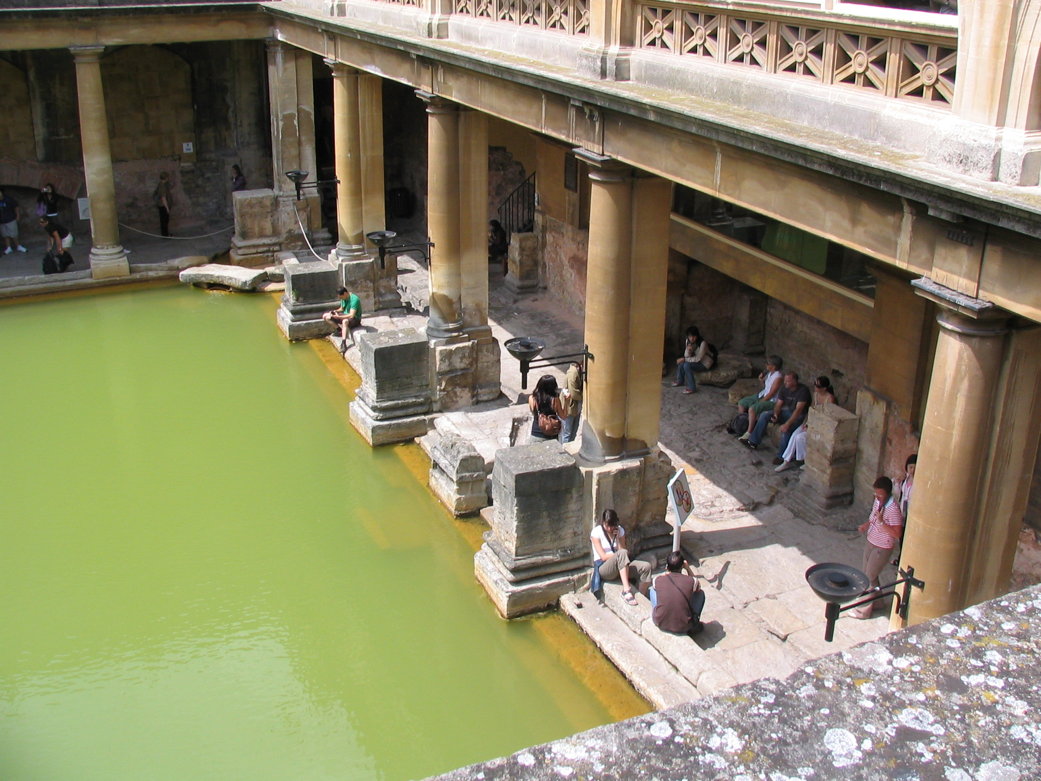 Closer View of The Great Bath