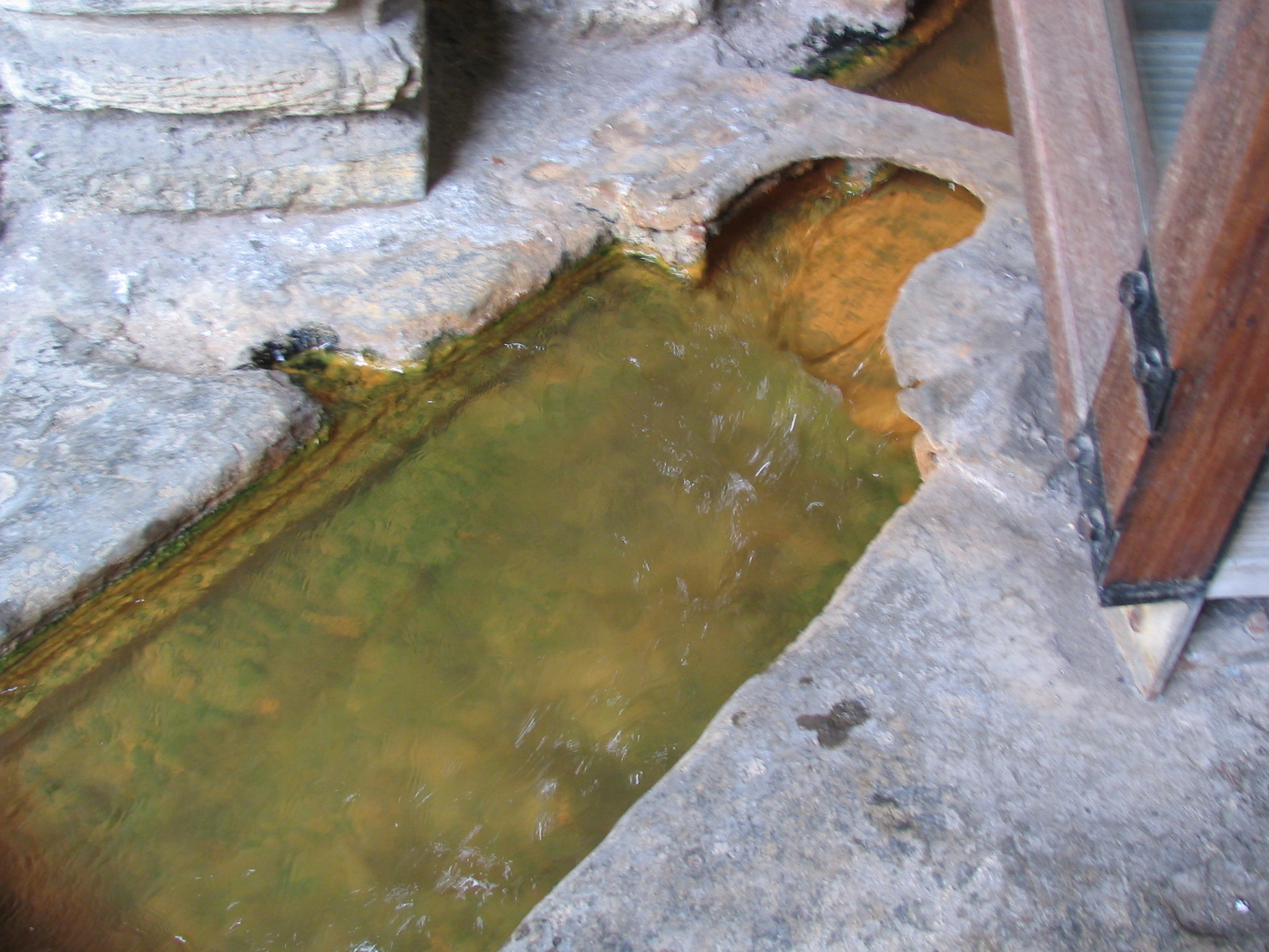Water from the Hot Springs