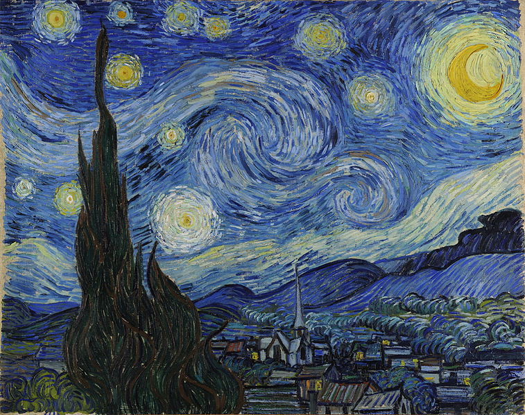 Starry Night (1889), Vincent van Gogh