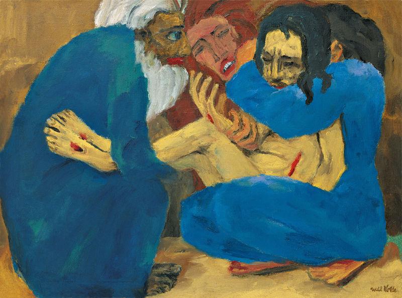 The Burial (1915), Emil Nolde