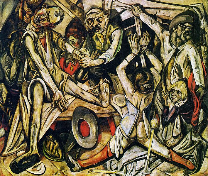 The Night (1918-19), Max Beckmann