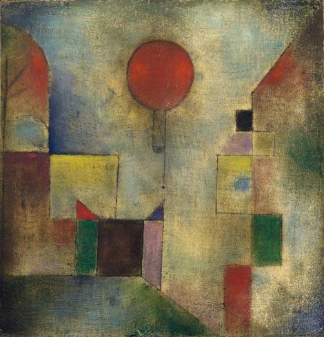 Red Balloon (1922), Paul Klee