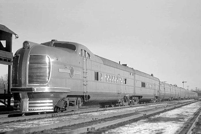 City of San Francisco train 1936
