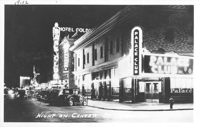 Center Street at Night