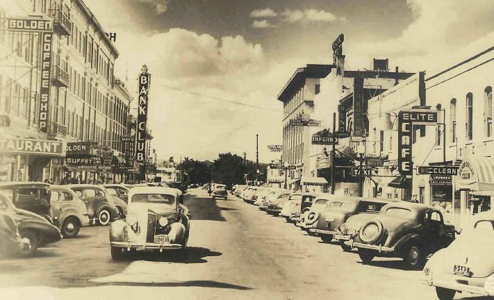 Center Street in Reno, c. 1940