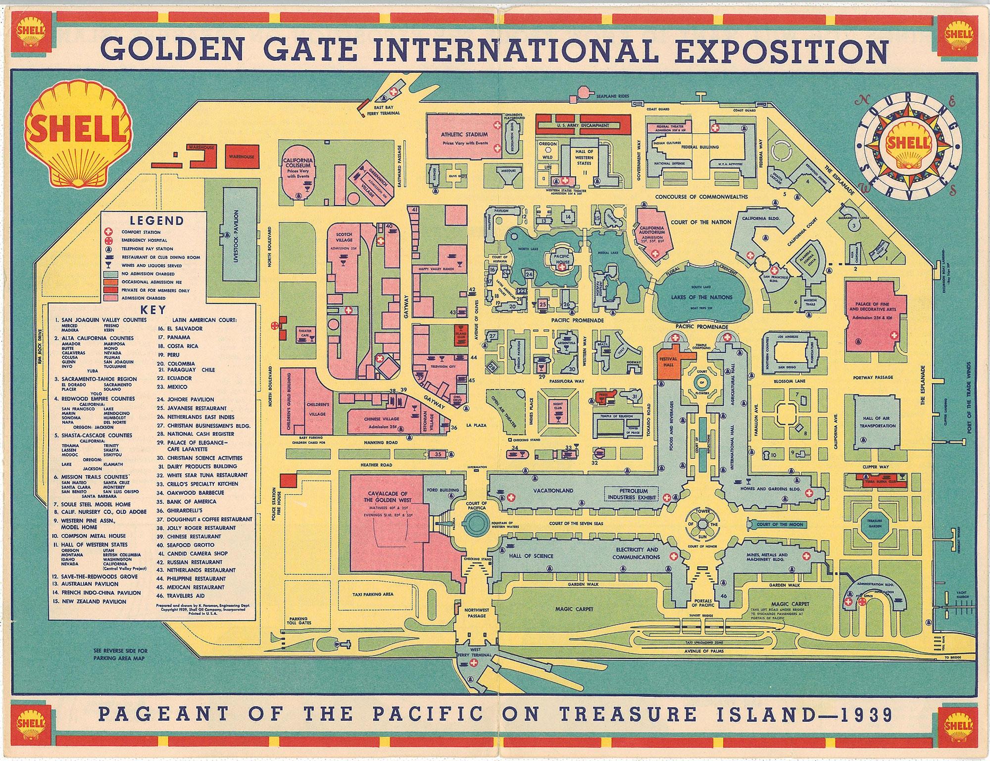 World's Fair Map