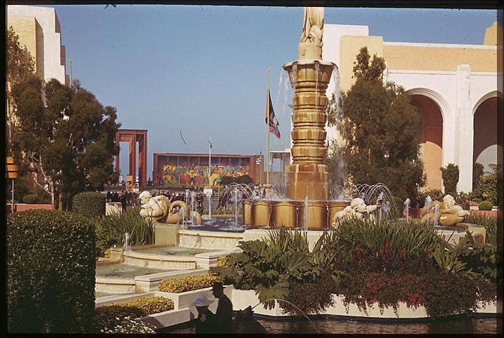 The Rainbow Fountain
