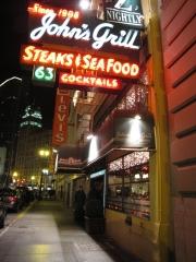 John's Grill in San Francisco