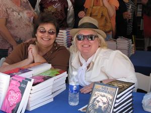 LA Times Festival 09 with Sue Ann Jaffarian
