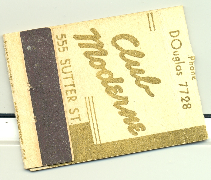 Matches from the Club Moderne