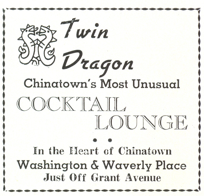 Twin Dragon Cocktail Lounge