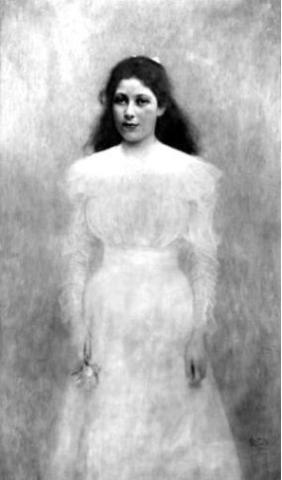Portrait of Trude Steiner, Gustav Klimt