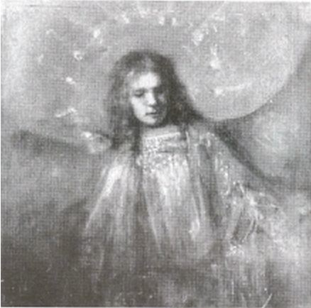 An Angel with the Features of Titus, Rembrandt