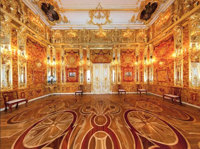 The Amber Room (reconstructed)