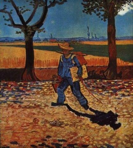 The Painter on the Road to Tarascon, Van Gogh
