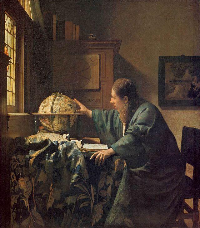 The Astronomer, Jan Vermeer