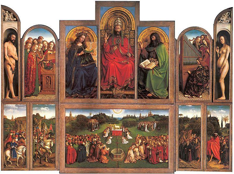 The Ghent Altarpiece, Jan van Eyck