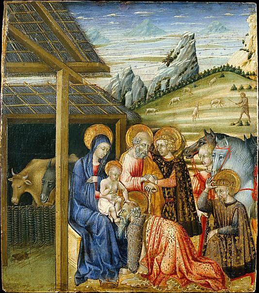 Adoration of Magi, Giovanni di Paolo