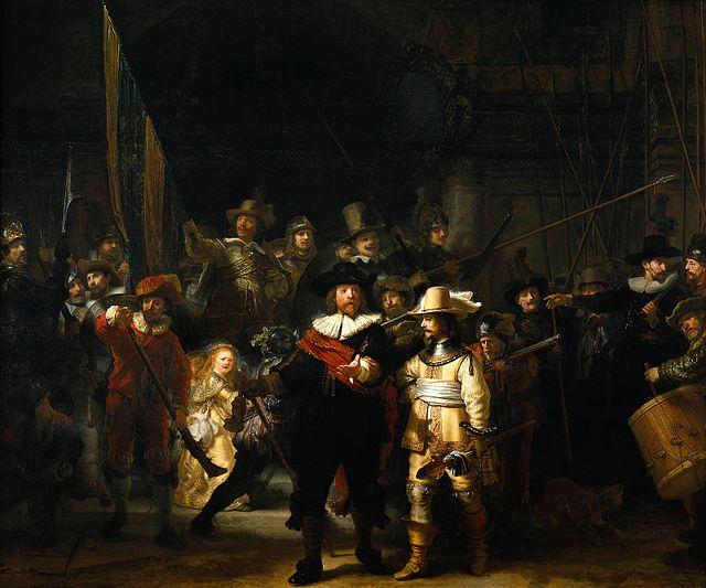 The Nightwatch, Rembrandt