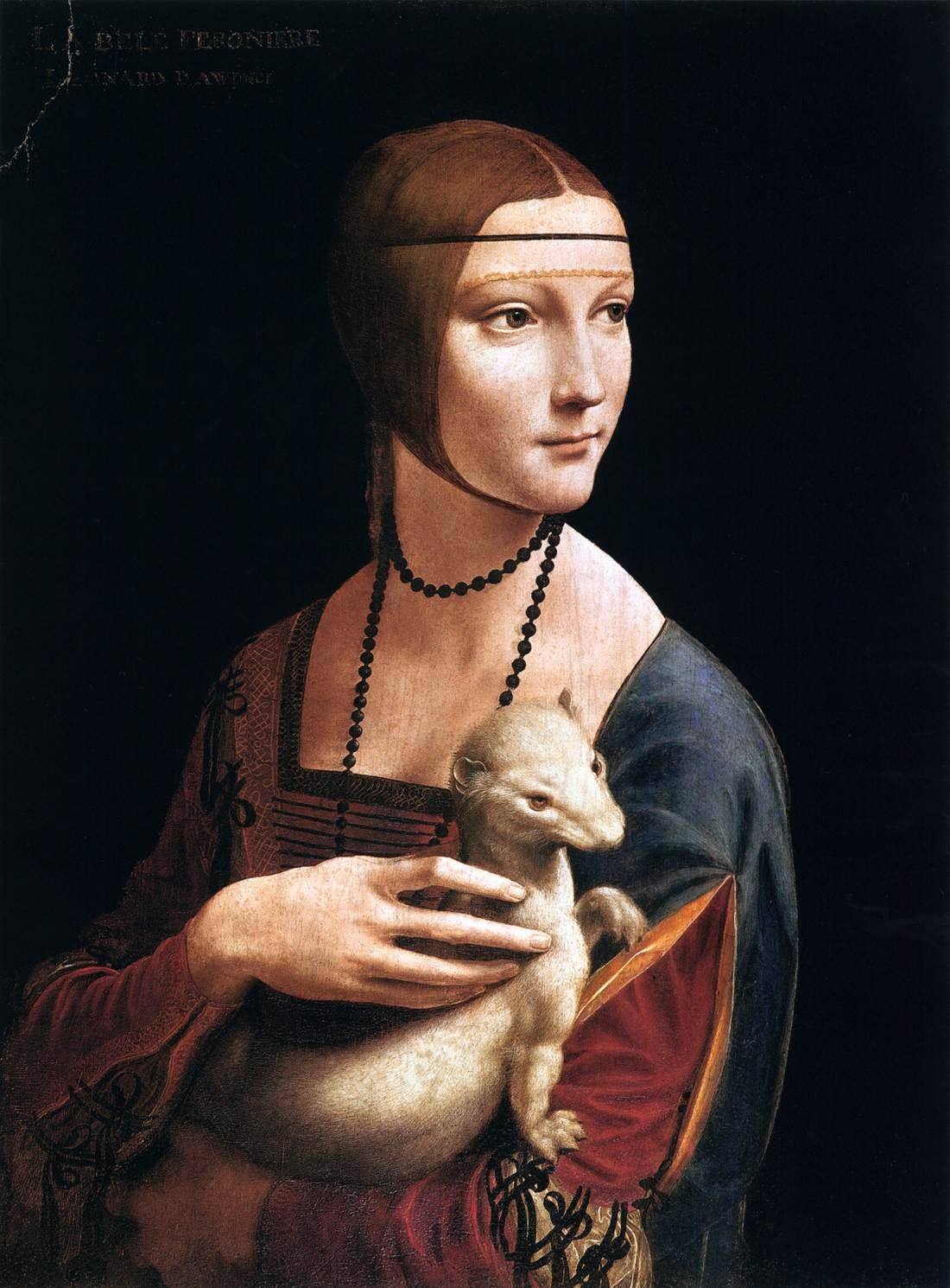 Lady with an Ermine, Leonardo da Vinci
