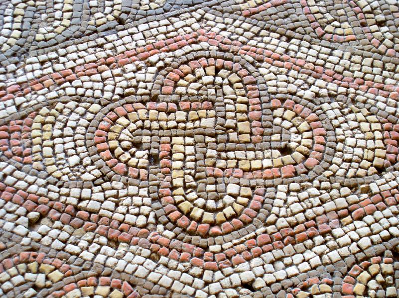 Roman Knot Mosaic