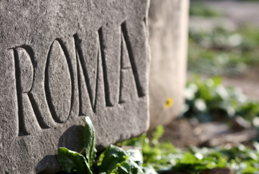 Roma Inscription