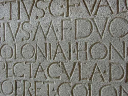 latin-inscription