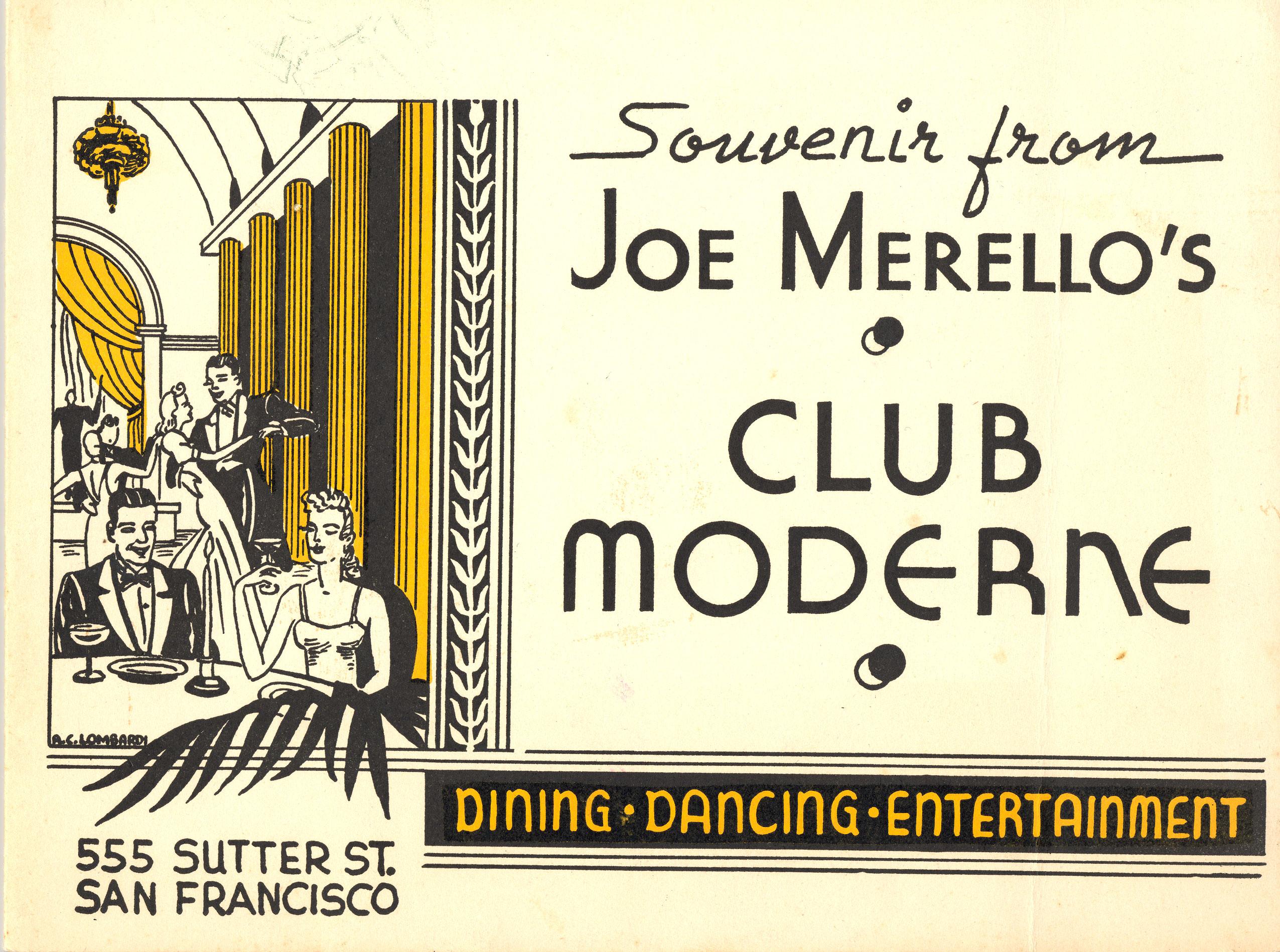 Club Moderne Album