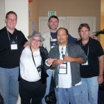 Bcon 08 with Jason Pinter, Bill Cameron, RJ Manghas and Brett Battles