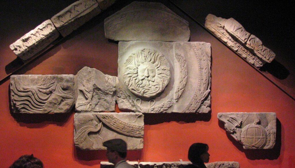 Aquae Sulis Temple Pediment