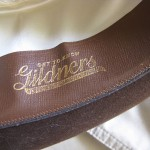 Department stores and hat shops used to stamp their names on the inside brims. This one is Gildners.