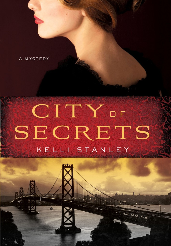 Book Cover to CITY OF SECRETS